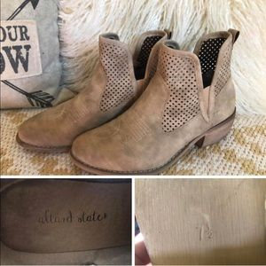 Altar'd State Tan Ankle Boots